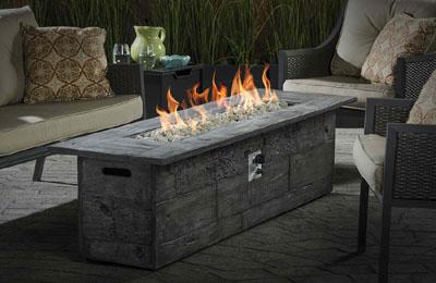 garden treasures gas fire pit